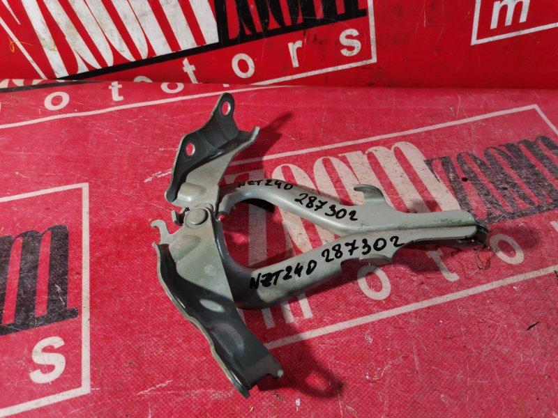 Кронштейн капота Toyota Premio NZT240 1NZ-FE 2001 передний серебро