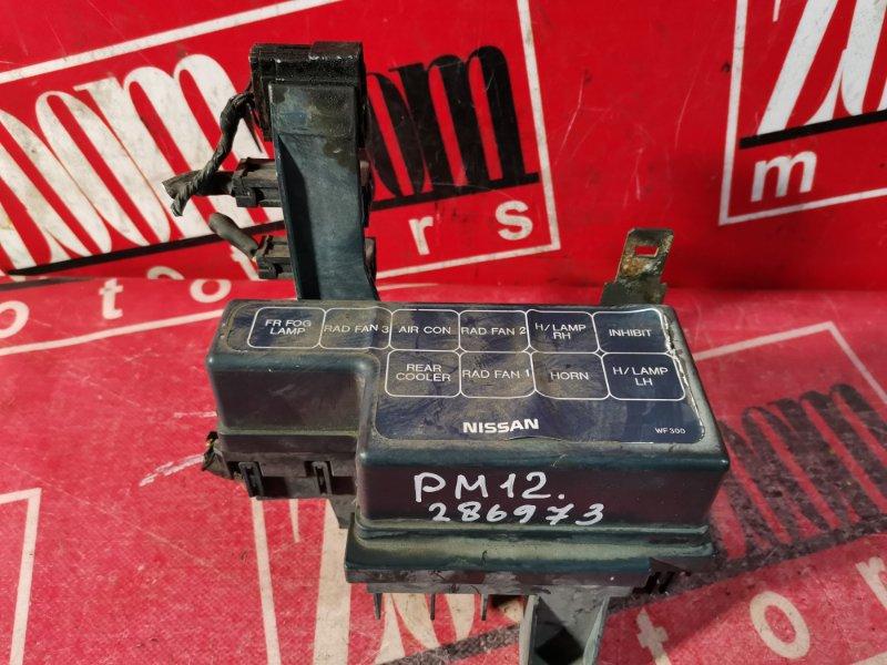 Блок реле и предохранителей Nissan Liberty PM12 SR20DE 1998