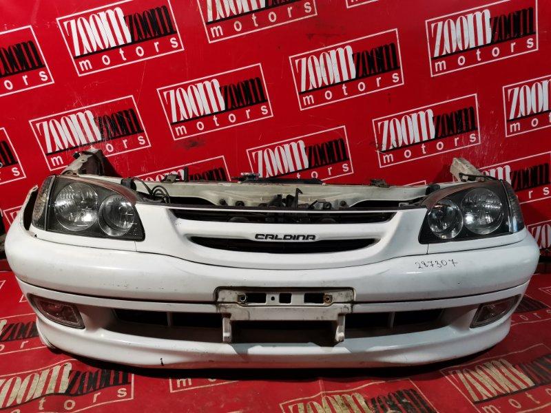 Nose cut Toyota Caldina ST210 3S-FE 1997 передний белый