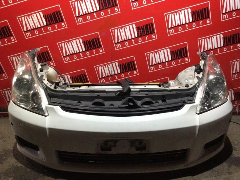 Nose cut Toyota Wish ZNE10G 1ZZ-FE 2003 белый