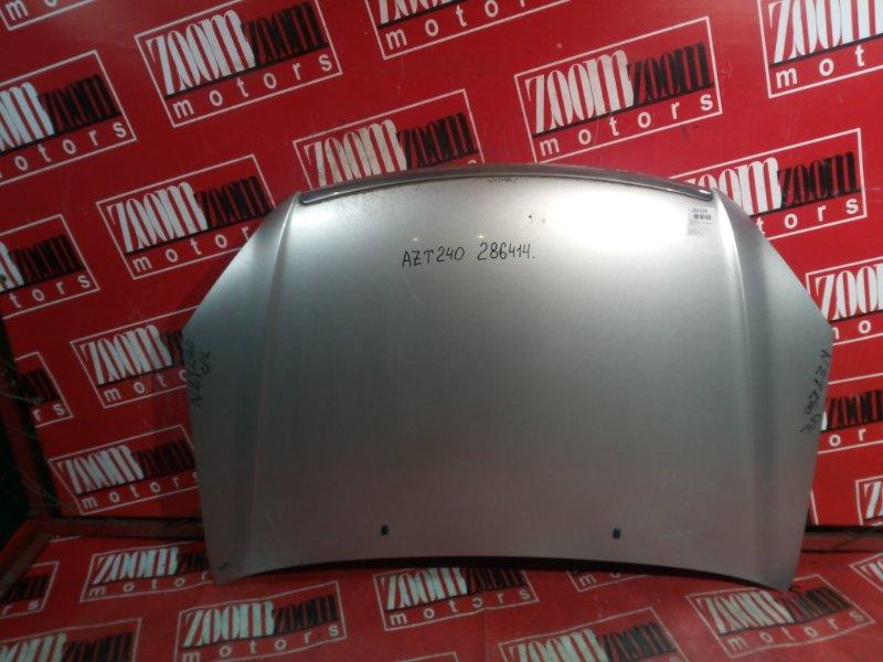 Капот Toyota Premio AZT240 1AZ-FSE 2001 передний серебро