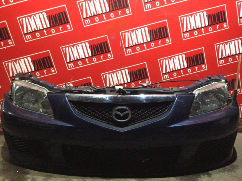 Nose cut Mazda Premacy CP8W FP-DE 2001 синий