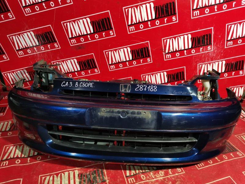 Nose cut Honda Logo GA3 D15B 1999 синий