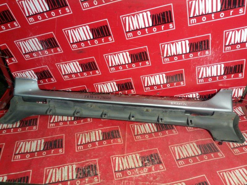 Порог Nissan Skyline HR33 RB20DE 1997 серый