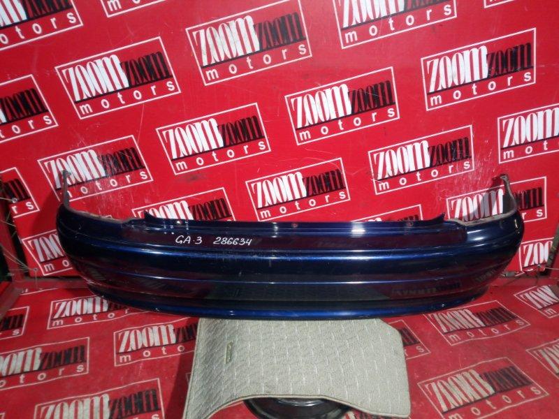 Бампер Honda Logo GA3 D13B 2000 задний синий