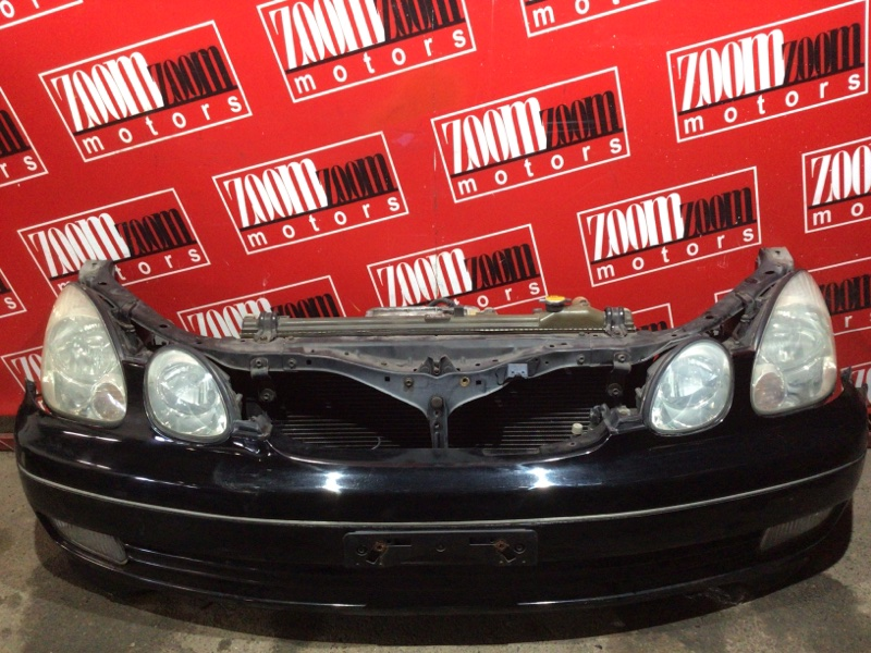 Nose cut Toyota Aristo JZS160 2JZ-GE 1997 черный
