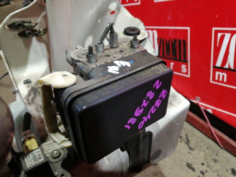 Блок abs (модулятор abs) Toyota Allion ZZT240 1ZZ-FE 2004 44510-20350