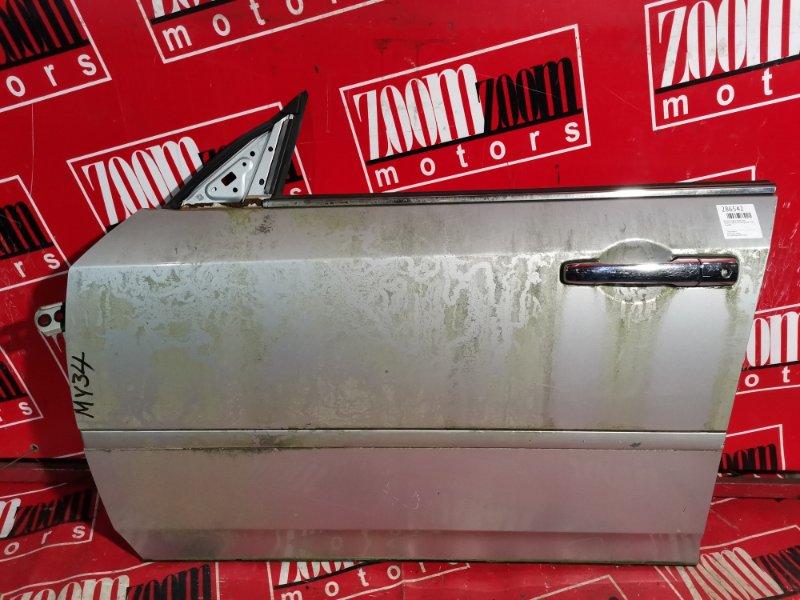 Дверь боковая Nissan Cedric MY34 VQ25DE 1999 передняя левая серебро