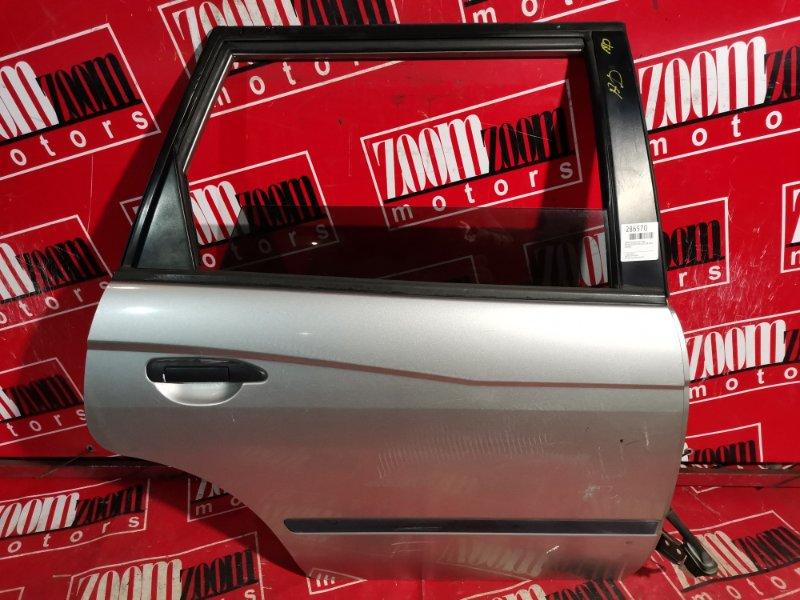 Дверь боковая Nissan Expert W11 QG15DE 2001 задняя правая серебро