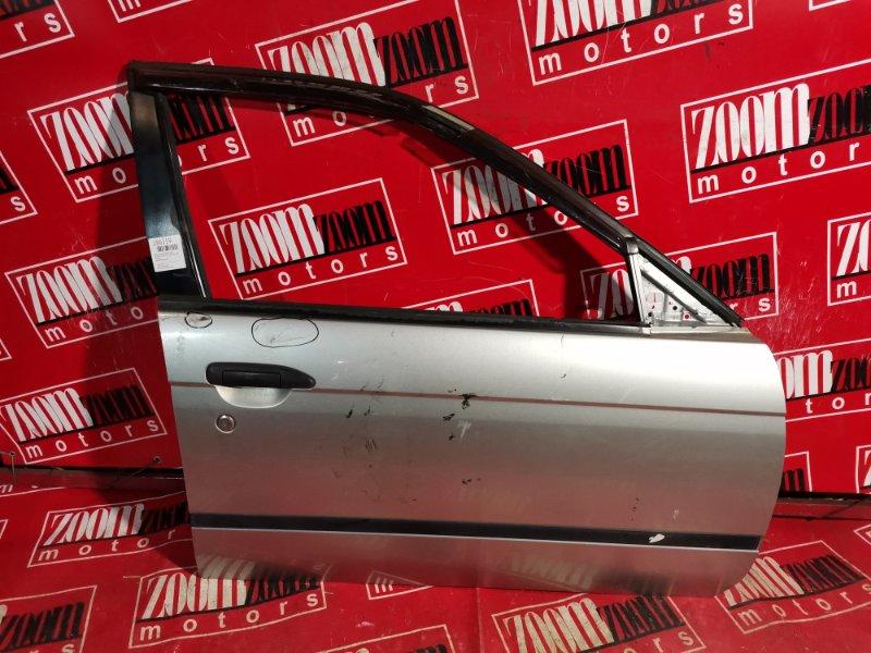 Дверь боковая Nissan Expert W11 QG15DE 2001 передняя правая серебро