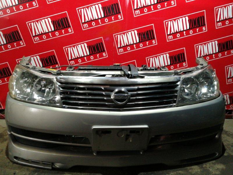 Nose cut Nissan Liberty RM12 QR20DE 2001 серебро