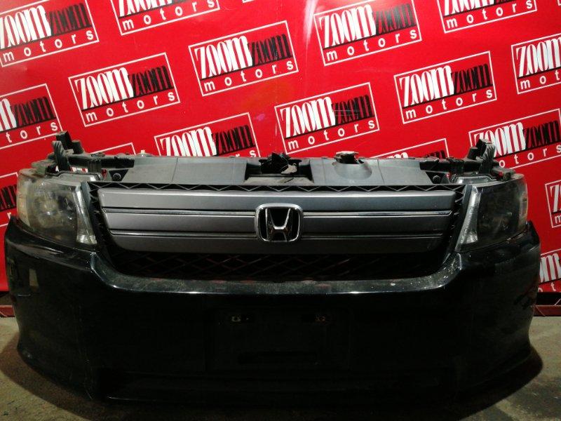 Nose cut Honda Mobilio Spike GK1 L15A 2005 передний правый черный