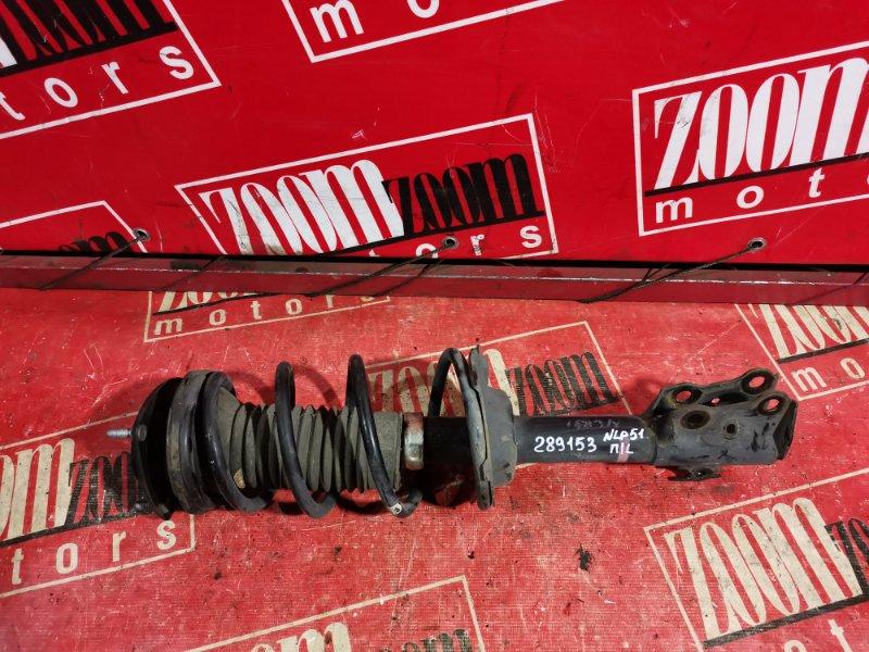 Стойка подвески Toyota Succeed NLP51 1ND-TV 2002 передняя левая