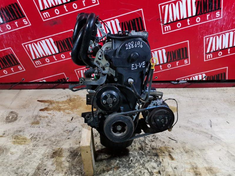 Двигатель Toyota Duet M100A EJ-VE 1998 6526934