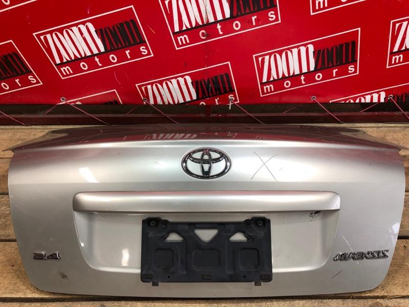 Крышка багажника Toyota Avensis AZT251 2AZ-FSE 2002 серебро