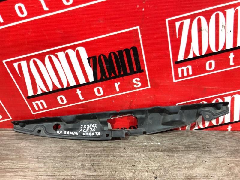 Накладка на решетку радиатора Toyota Estima ACR30 2AZ-FE 2003 передняя