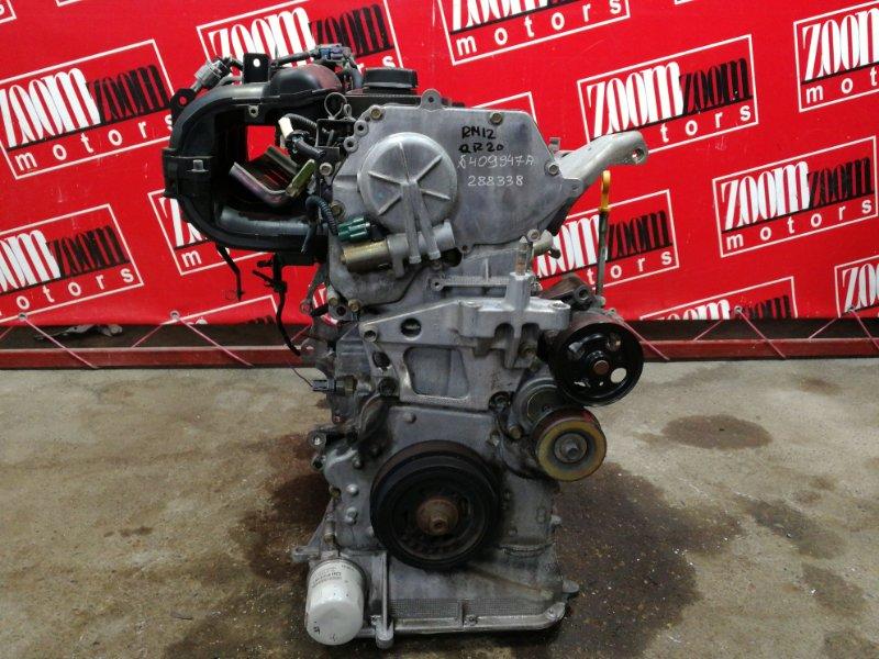 Двигатель Nissan Liberty RM12 QR20DE 2001