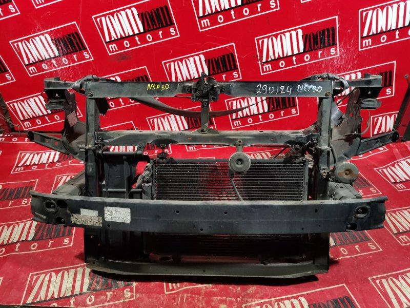 Рамка радиатора Toyota Bb NCP30 1NZ-FE 2003 передняя черный
