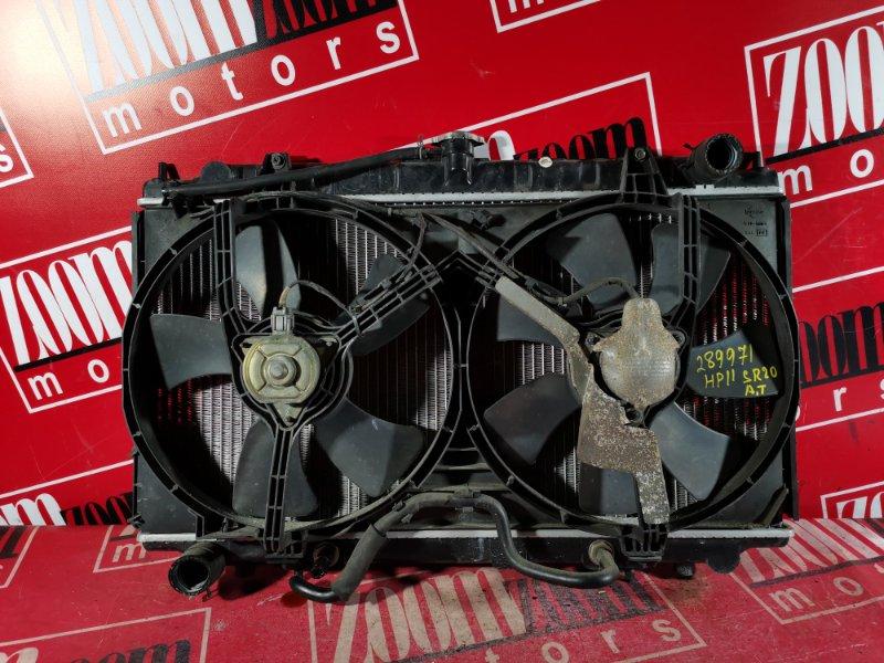 Радиатор двигателя Nissan Primera HP11 SR20DE 1997