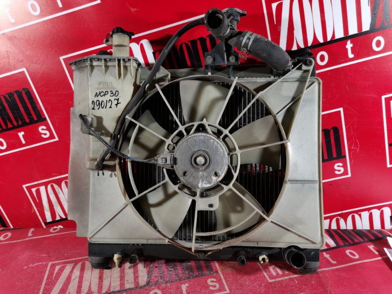 Радиатор двигателя Toyota Bb NCP30 1NZ-FE 2003