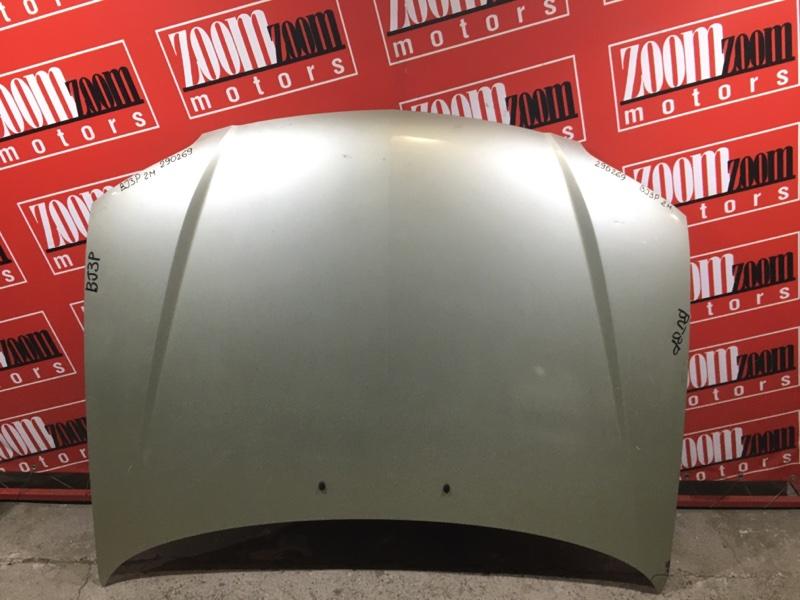 Капот Mazda Familia BJ3P B3-E 2001 золото