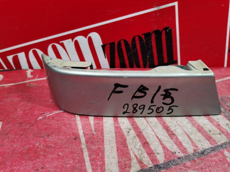Планка под фонарь Nissan Sunny FB15 QG15DE 1999 задняя левая серебро