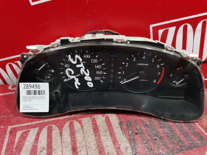 Комбинация приборов (спидометр) Toyota Corona Exiv ST202 3S-FE 1993 83100-2D760