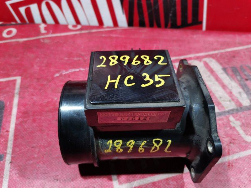 Расходомер (датчик расхода воздуха) Nissan Laurel HC35 RB25DE 1997 22680 31U05 A36608