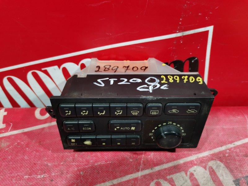 Блок управления отоплением и вентиляцией Toyota Corona Exiv ST200 3S-FE 1993