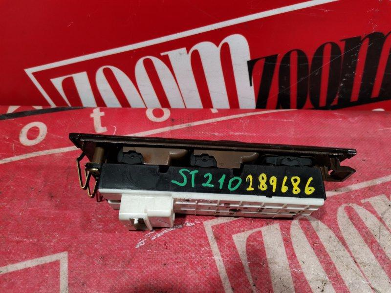 Блок управления стеклоподъемниками Toyota Corona Premio ST210 3S-FE 1997 передний правый