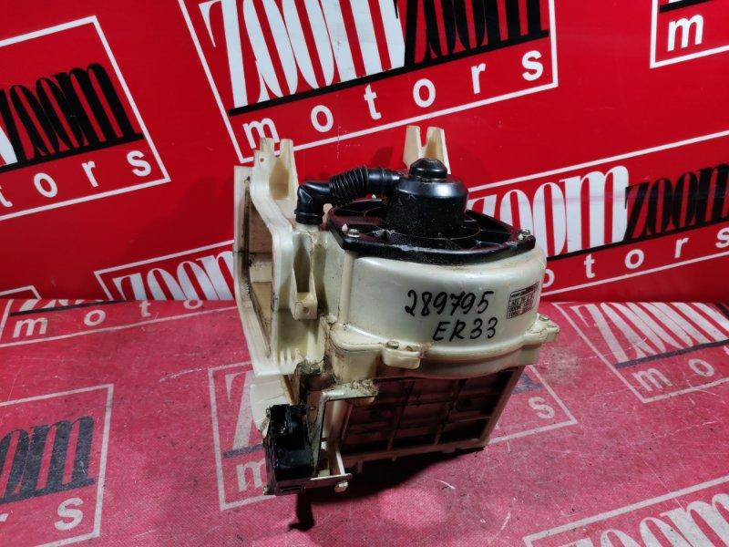 Вентилятор (мотор отопителя) Nissan Skyline ER33 RB25DE 1993 черный