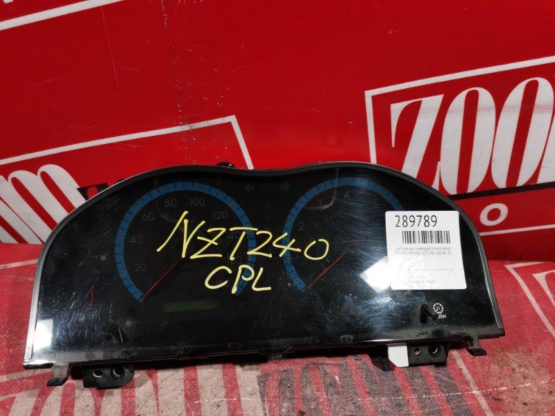 Комбинация приборов (спидометр) Toyota Premio NZT240 1NZ-FE 2002 передняя