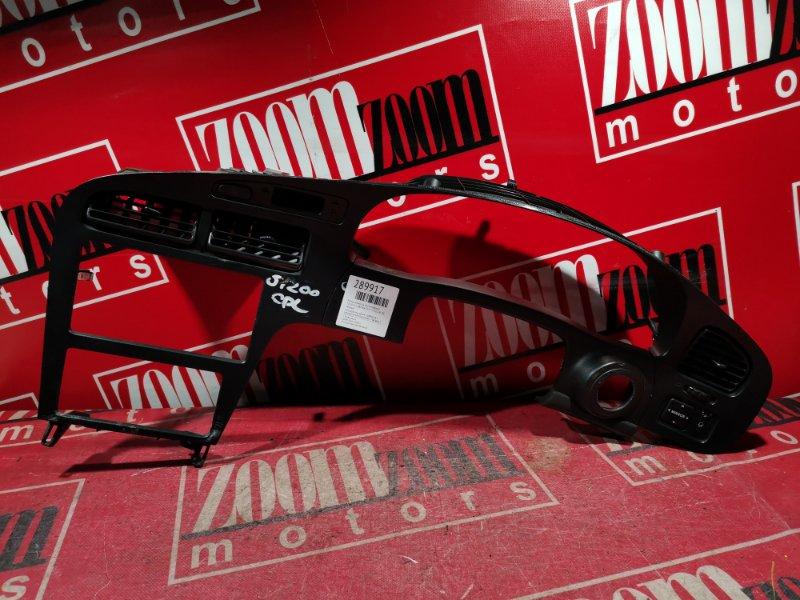 Рамка (консоль магнитофона) Toyota Corona Exiv ST202 4S-FE 1993 черный