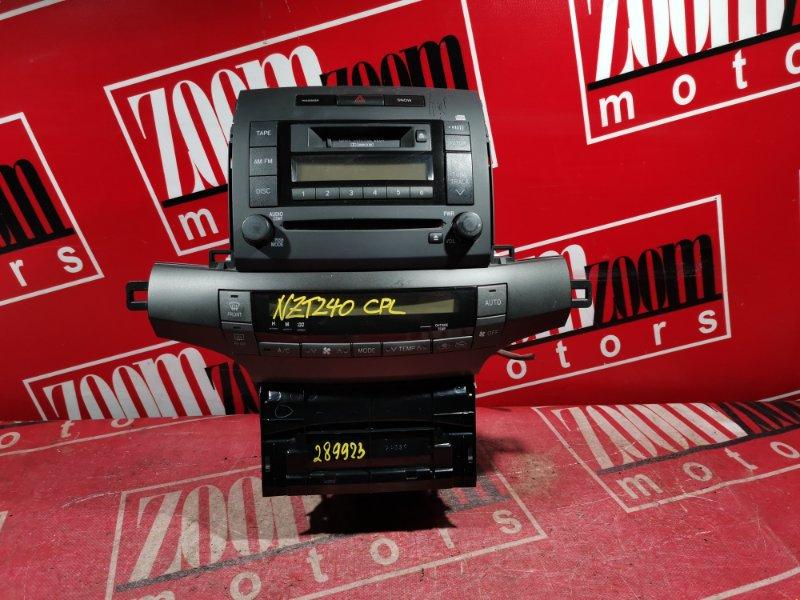 Блок управления отоплением и вентиляцией Toyota Premio NZT240 1NZ-FE 2001