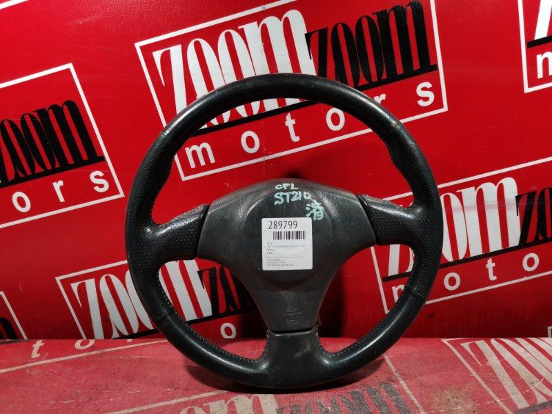 Руль Toyota Caldina ST210 3S-FE 1997 черный