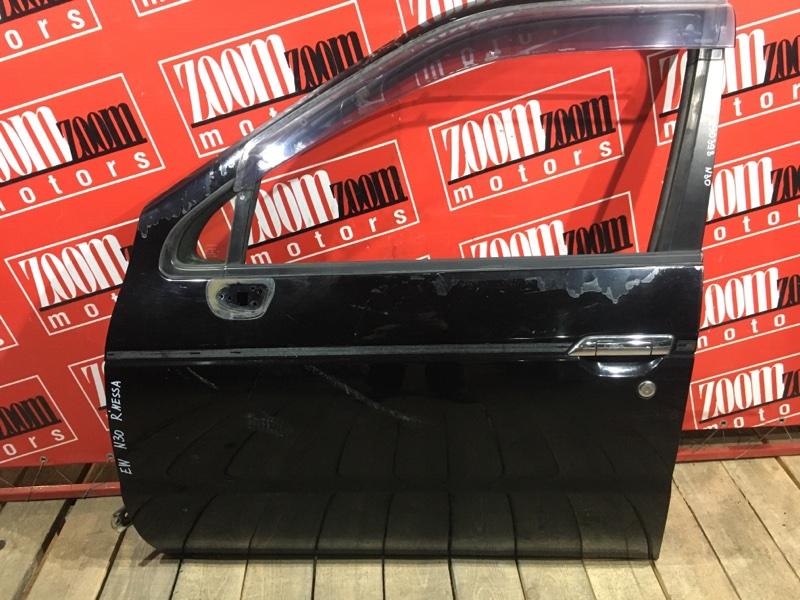 Дверь боковая Nissan R'nessa N30 SR20DE 1997 передняя левая черный