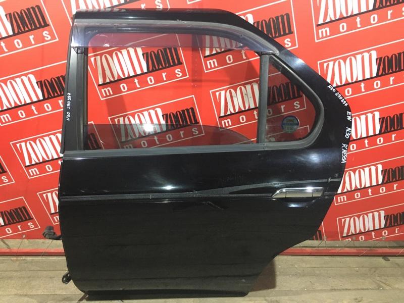 Дверь боковая Nissan R'nessa N30 SR20DE 1997 задняя левая черный