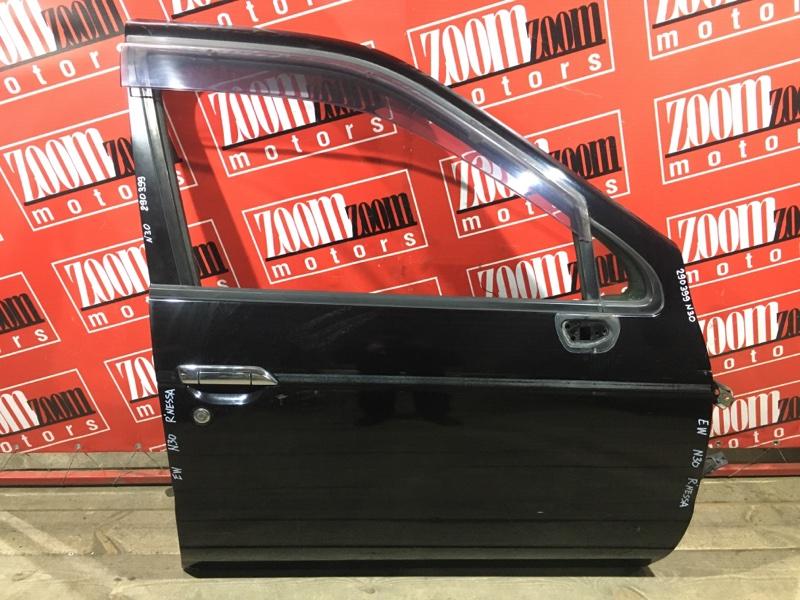 Дверь боковая Nissan R'nessa N30 SR20DE 1997 передняя правая черный