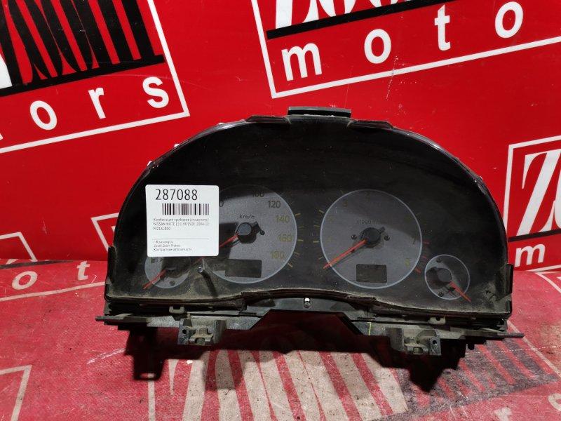 Комбинация приборов (спидометр) Nissan Note E11 HR15DE 2004 M21AL800