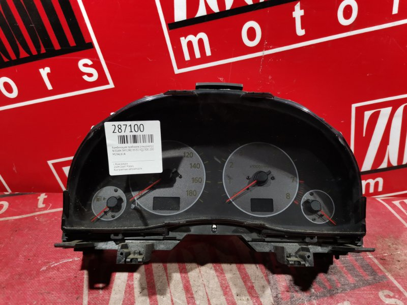 Комбинация приборов (спидометр) Nissan Skyline HV35 VQ25DE 2001 M19AL614