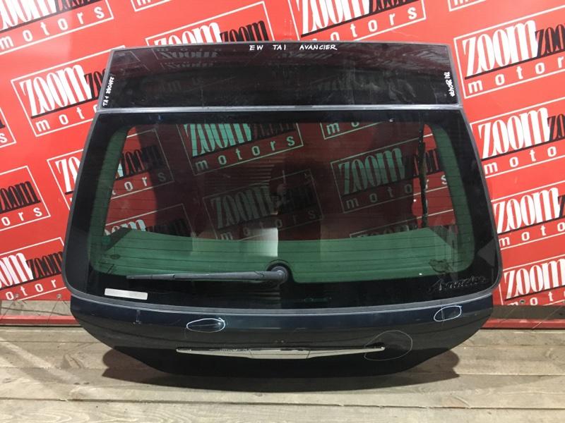Дверь задняя багажника Honda Avancier TA1 F23A 1997 задняя зеленый