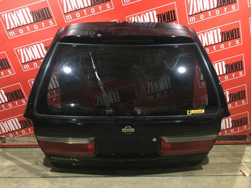 Дверь задняя багажника Nissan R'nessa N30 SR20DE 1998 задняя черный 48-01