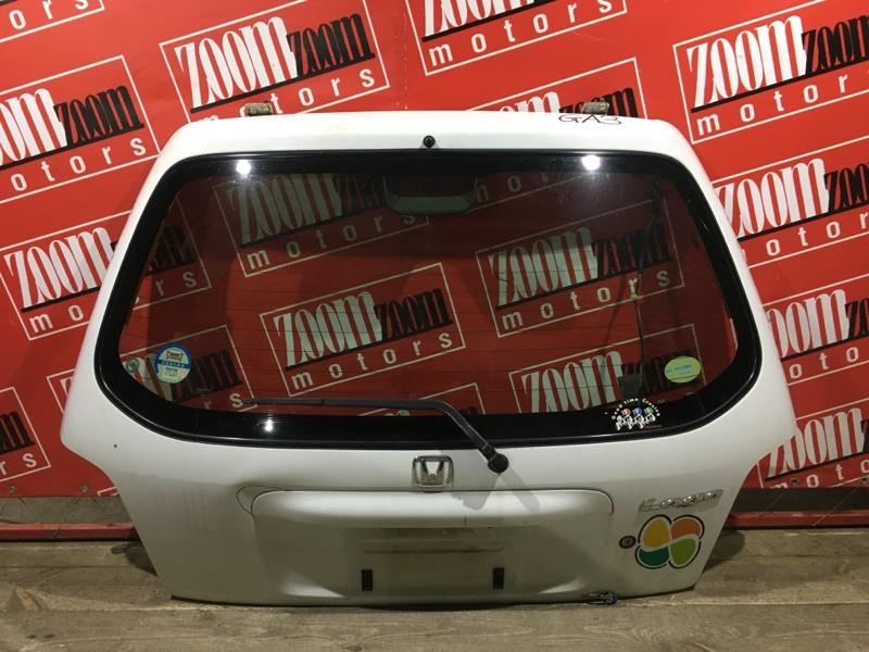 Дверь задняя багажника Honda Logo GA3 D15B 1998 задняя белый
