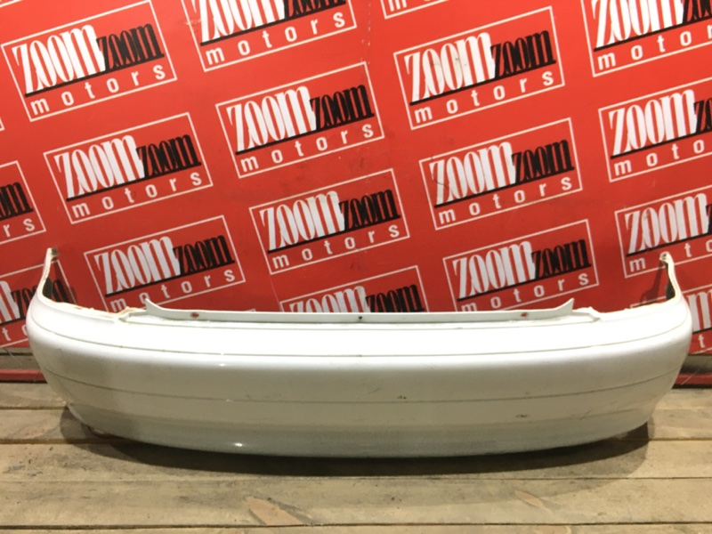 Бампер Honda Logo GA3 D15B 1998 задний белый