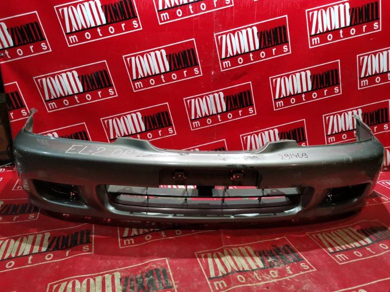 Бампер Honda Orthia EL2 B20B 1997 передний серый