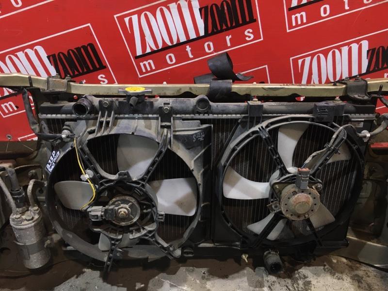 Радиатор двигателя Mazda Familia BJ3P B3-E 1998 передний