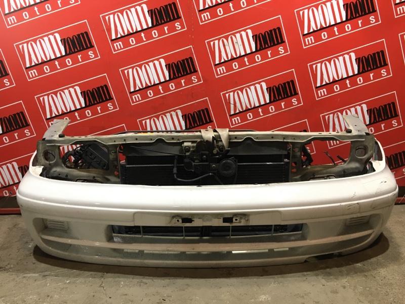 Бампер Nissan Pulsar FN15 GA15DE 1995 передний белый