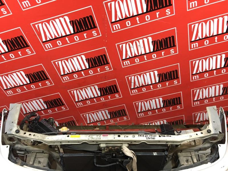Рамка радиатора Nissan Pulsar FN15 GA15DE 1995 передняя белый