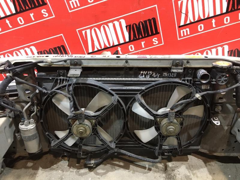 Радиатор двигателя Nissan Pulsar FN15 GA15DE 1995