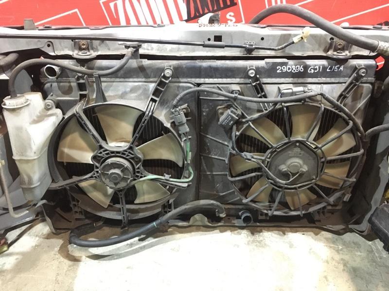 Радиатор двигателя Honda Airwave GJ1 L15A 2005